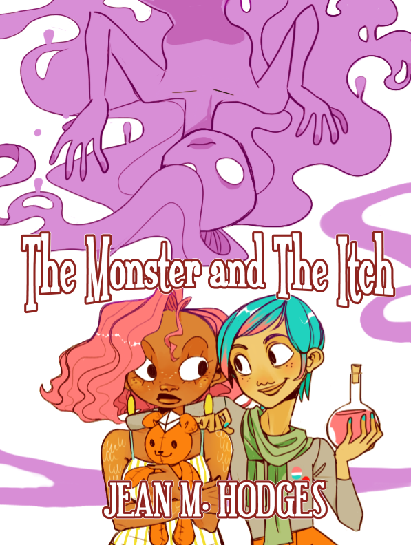 MONSTER AND THE ITCH COVER (72 DP1)